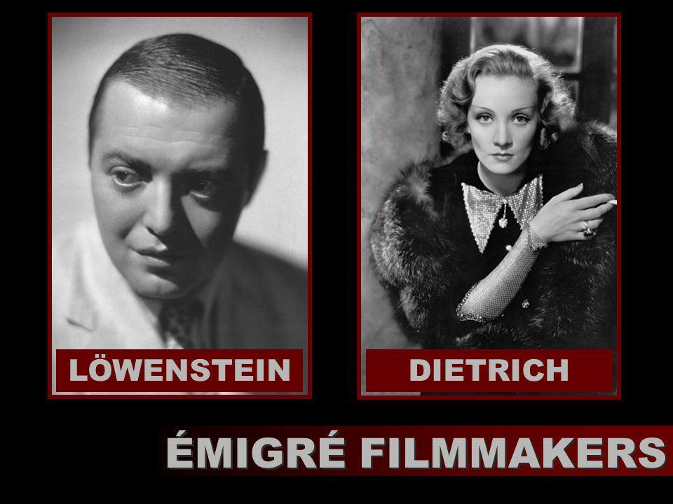 LÖWENSTEIN ÉMIGRÉ FILMMAKERS DIETRICH