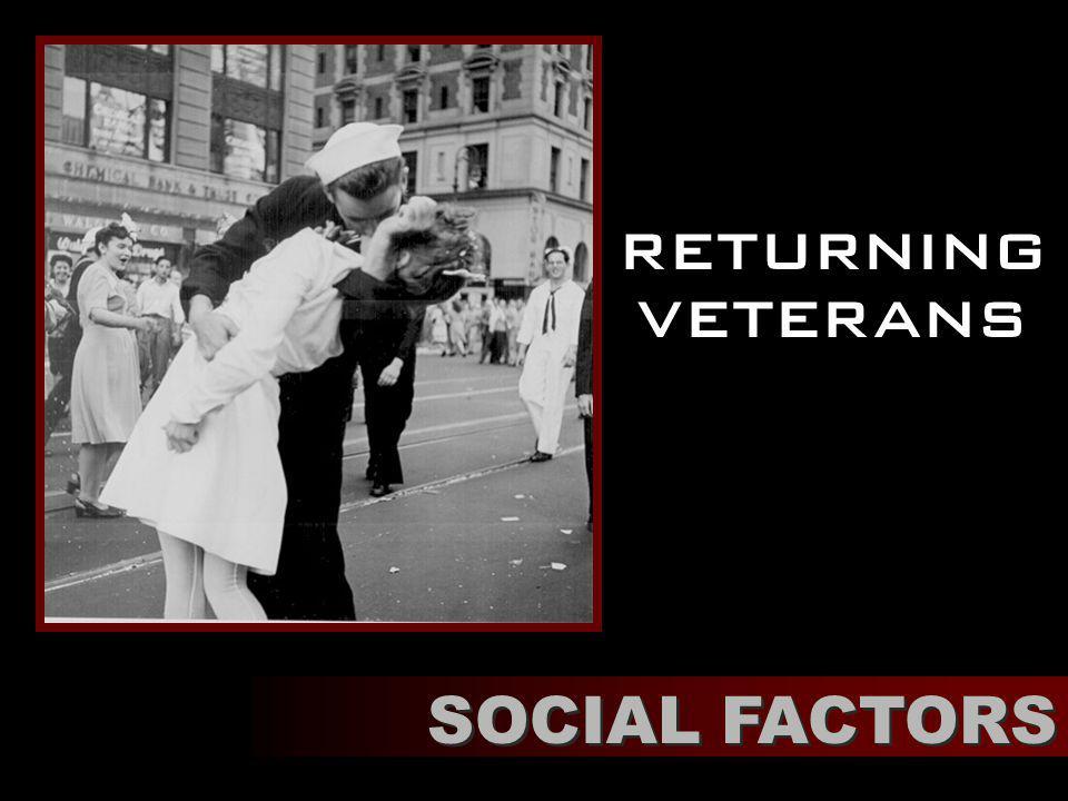 returning veterans SOCIAL FACTORS