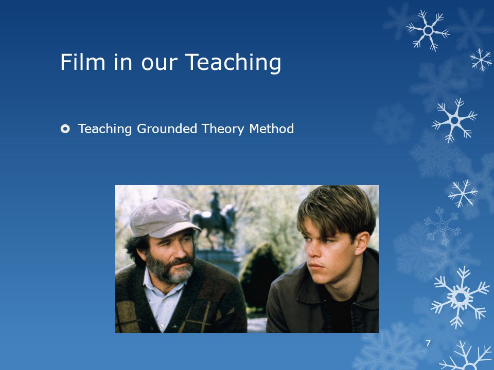 Teaching Grounded Theory Method 7