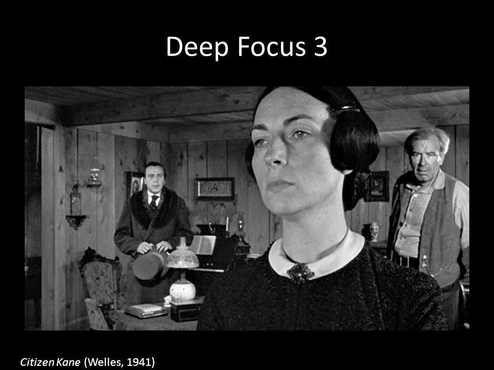 Deep Focus 3 Citizen Kane (Welles, 1941)