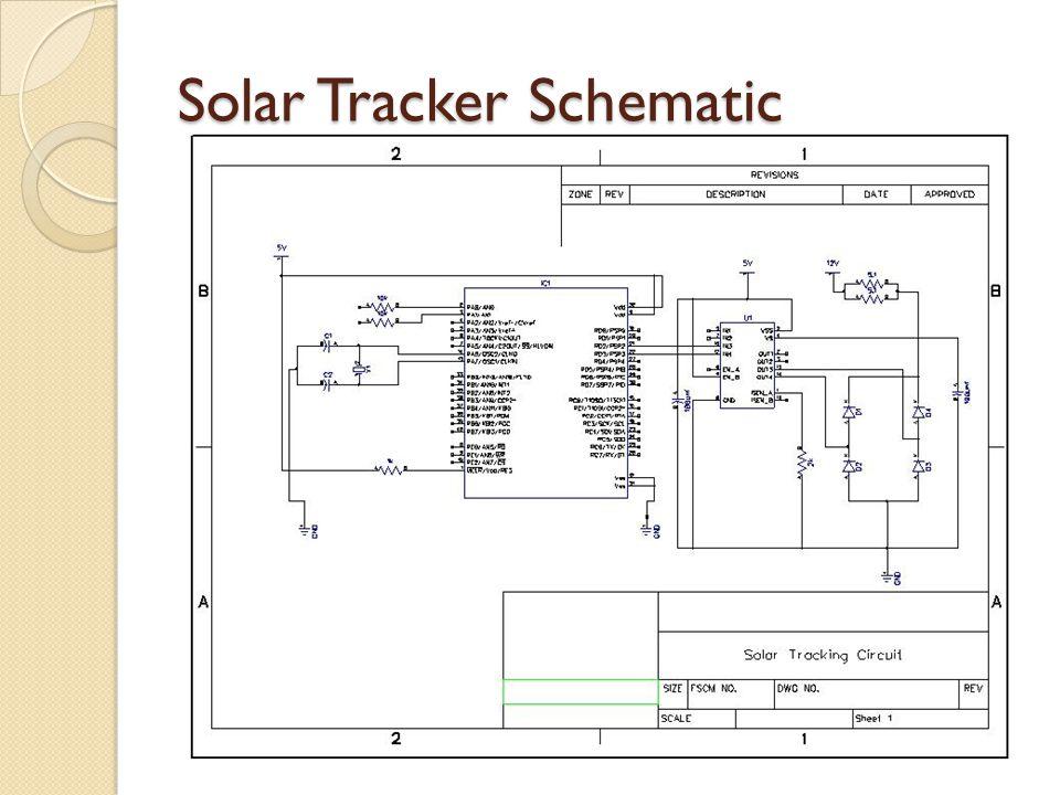 Solar Tracker Schematic