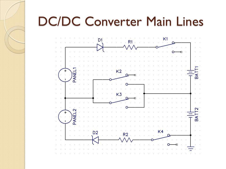 DC/DC Converter Main Lines