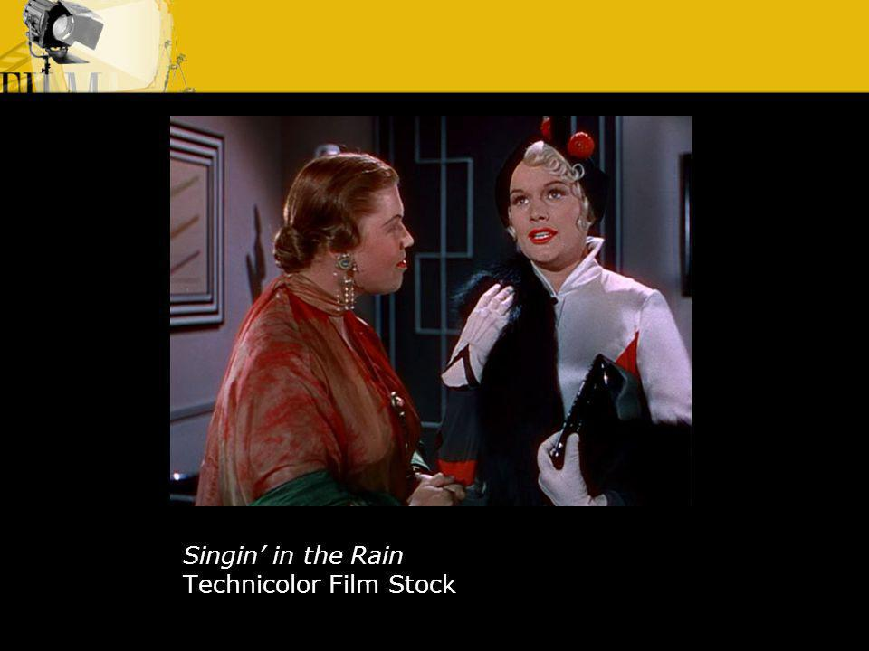 Singin in the Rain Technicolor Film Stock