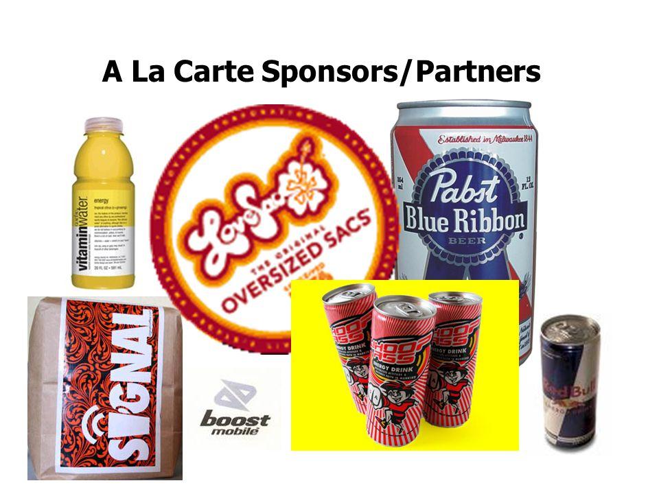 A La Carte Sponsors/Partners
