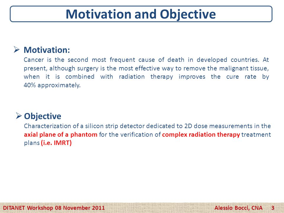 Motivation and Objective Motivation: Cancer is the second most frequent cause of death in developed countries. At present, although surgery is the mos
