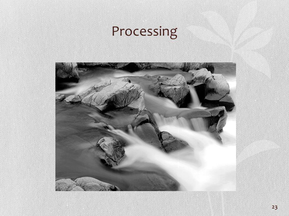 Processing 23