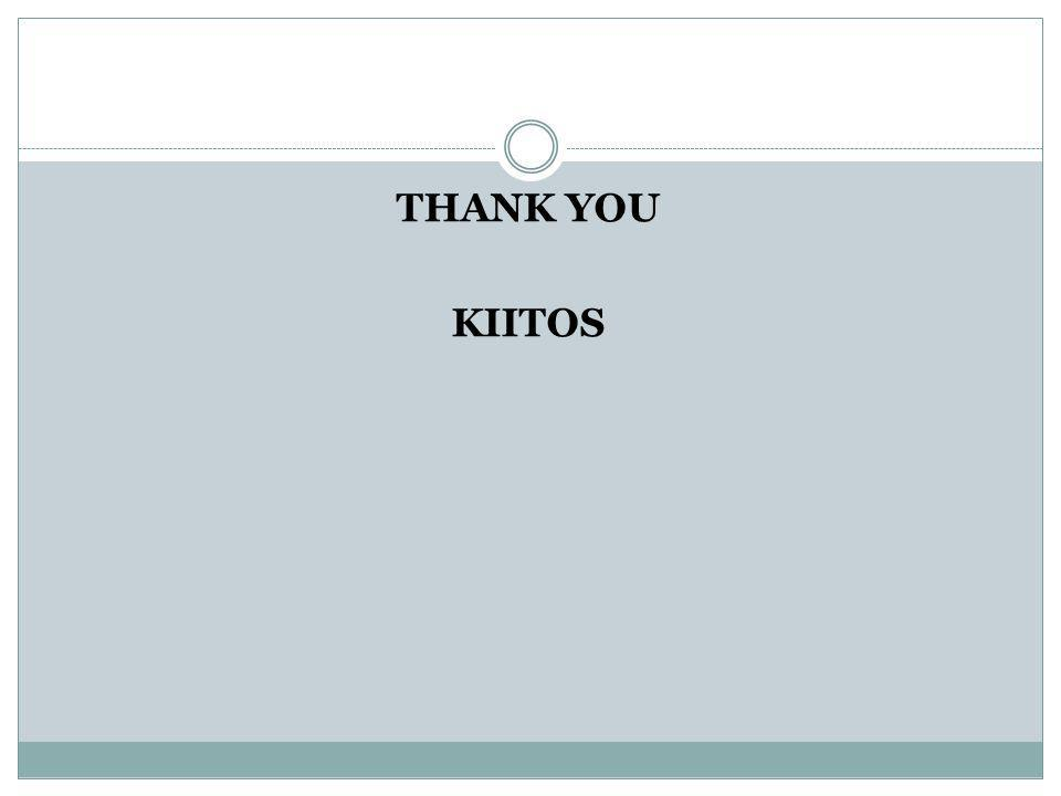 THANK YOU KIITOS