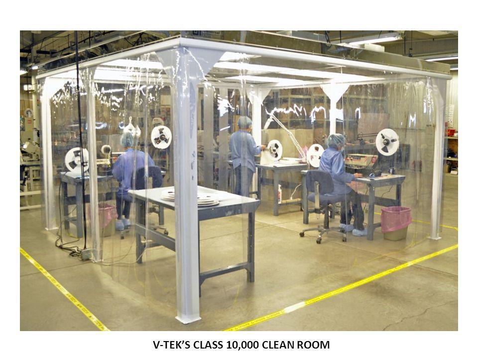 V-TEKS CLASS 10,000 CLEAN ROOM
