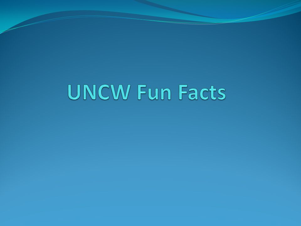 When was UNCW founded?