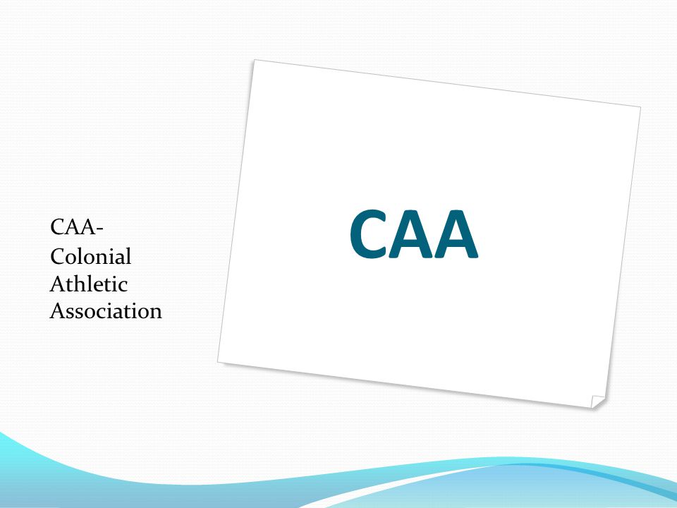 CAA CAA- Colonial Athletic Association