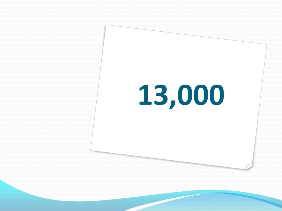 13,000