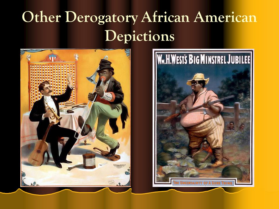 Other Derogatory African American Depictions