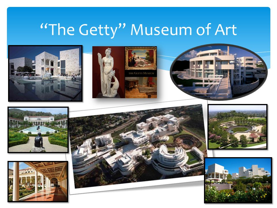 The Getty Museum of Art