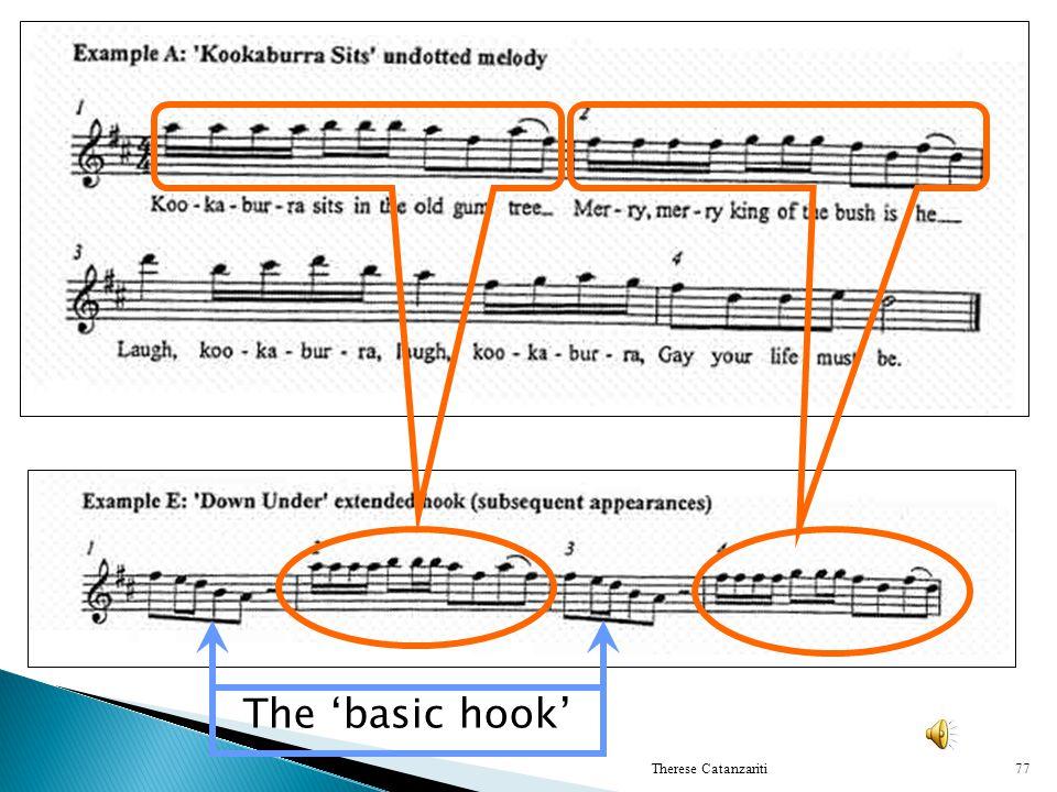 The basic hook 77Therese Catanzariti