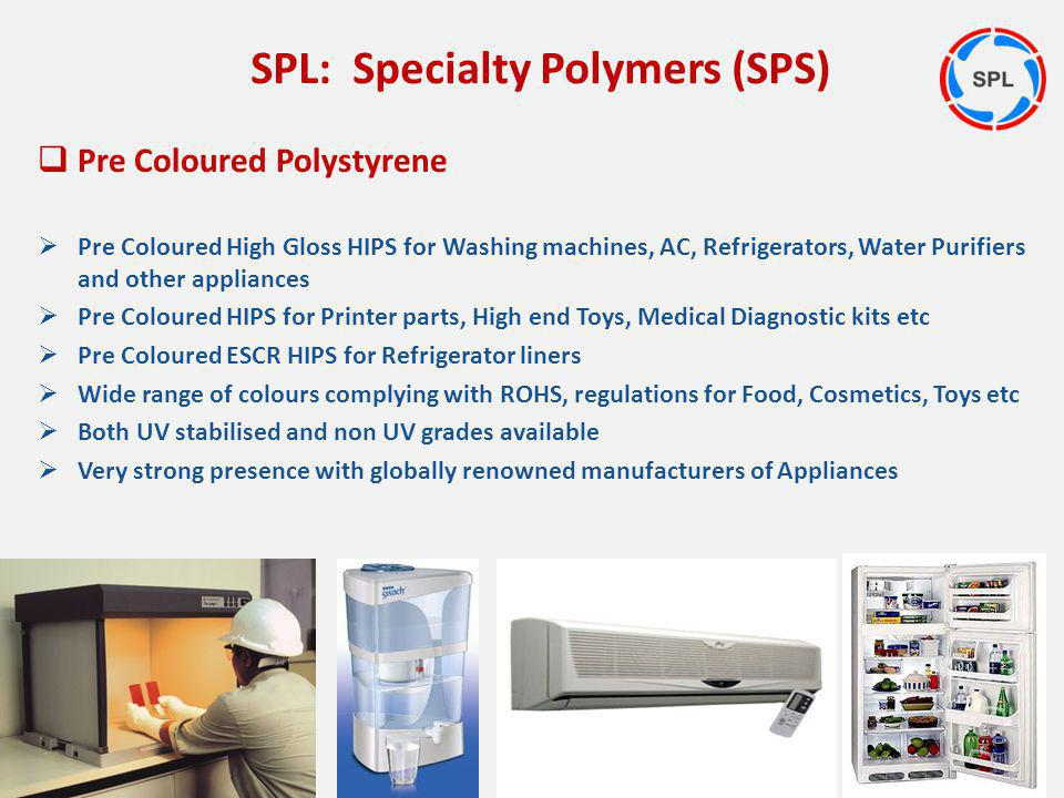 Pre Coloured Polystyrene Pre Coloured High Gloss HIPS for Washing machines, AC, Refrigerators, Water Purifiers and other appliances Pre Coloured HIPS