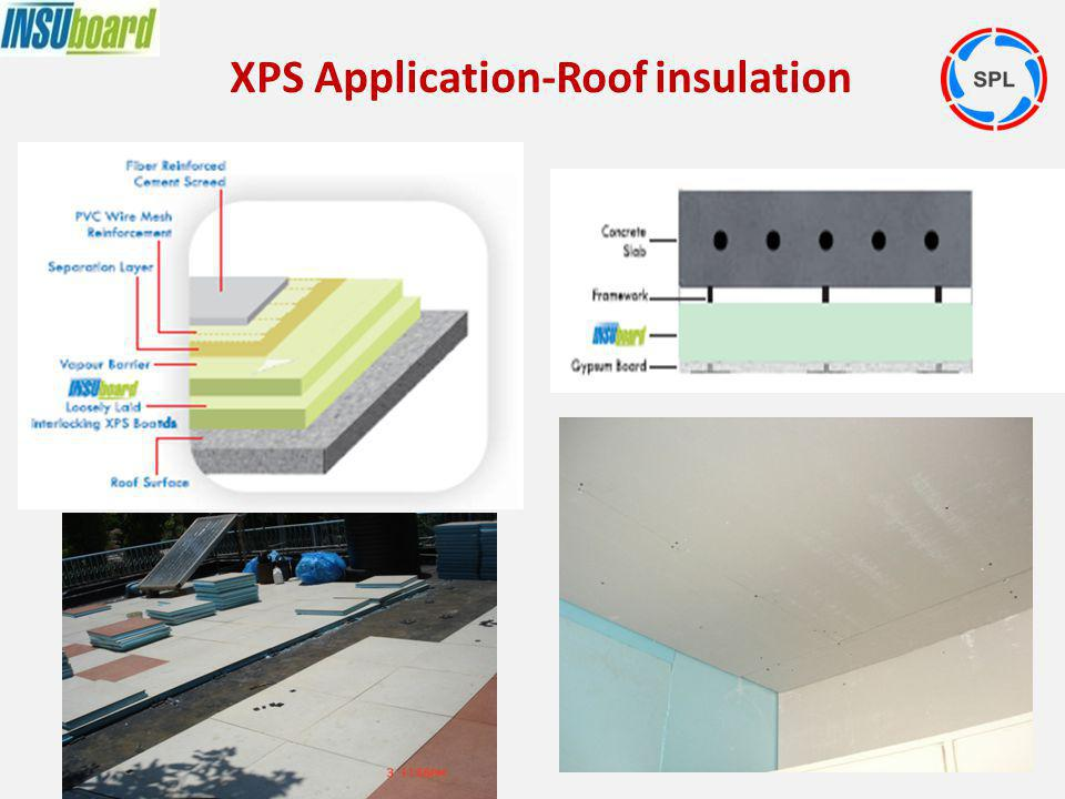 XPS Application-Roof insulation