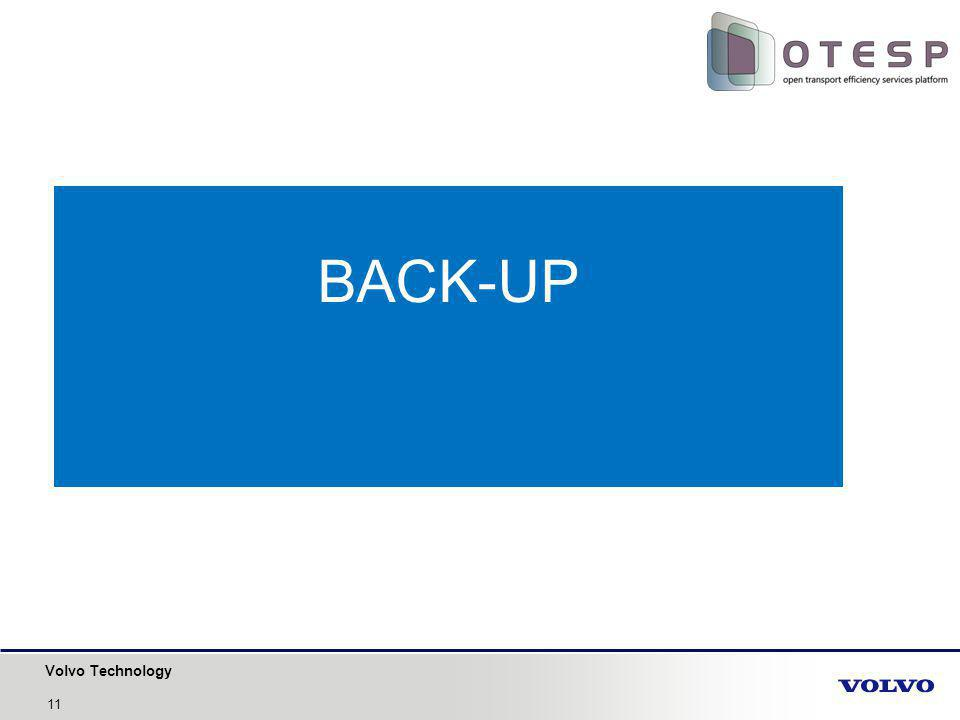 Volvo Technology BACK-UP 11