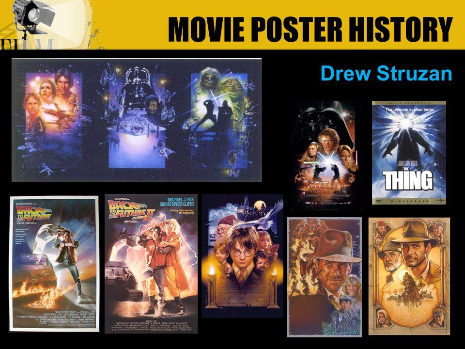 Drew Struzan MOVIE POSTER HISTORY