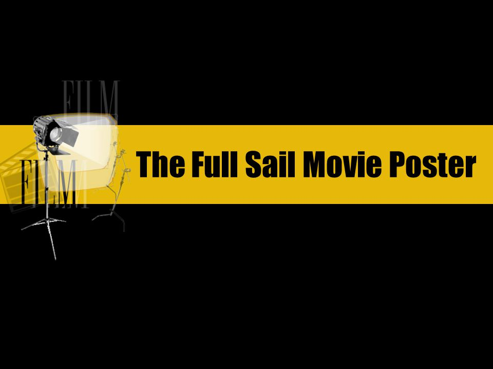 The Full Sail Movie Poster