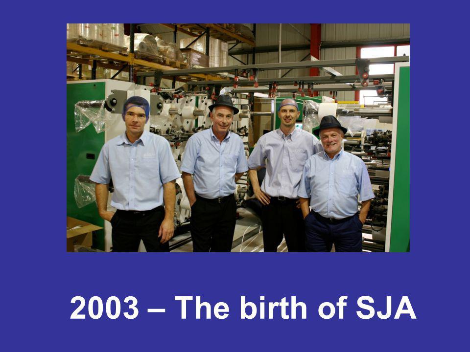 2003 – The birth of SJA