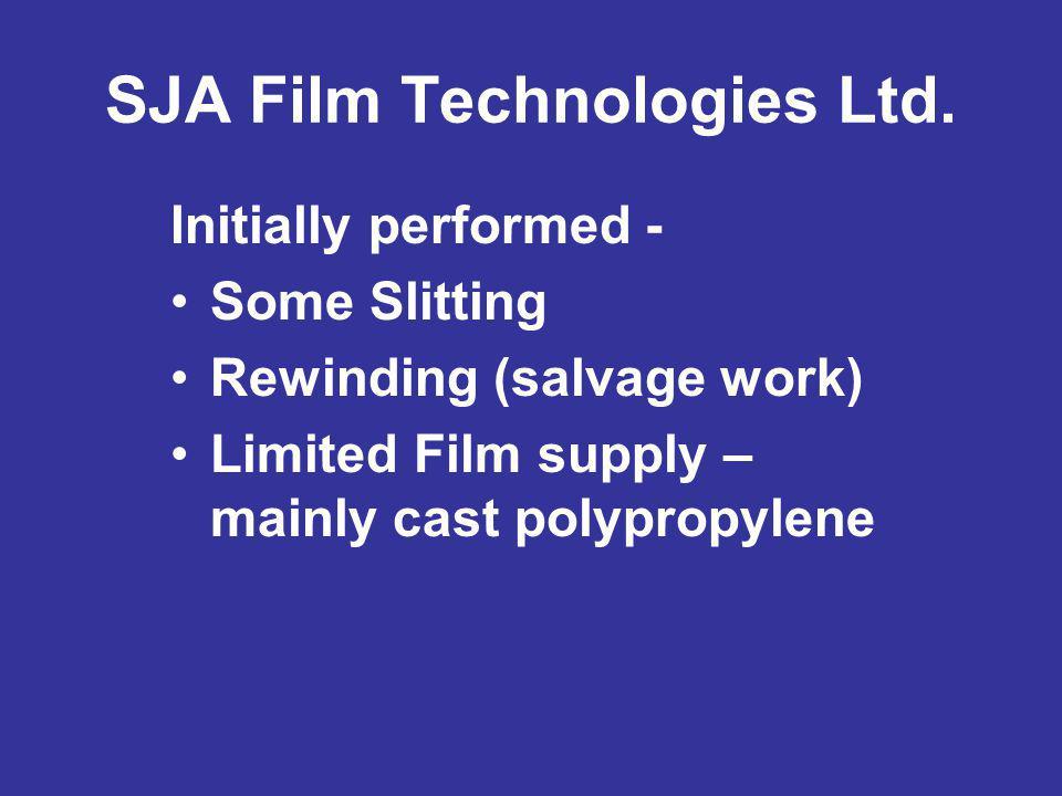 SJA Film Technologies Ltd.