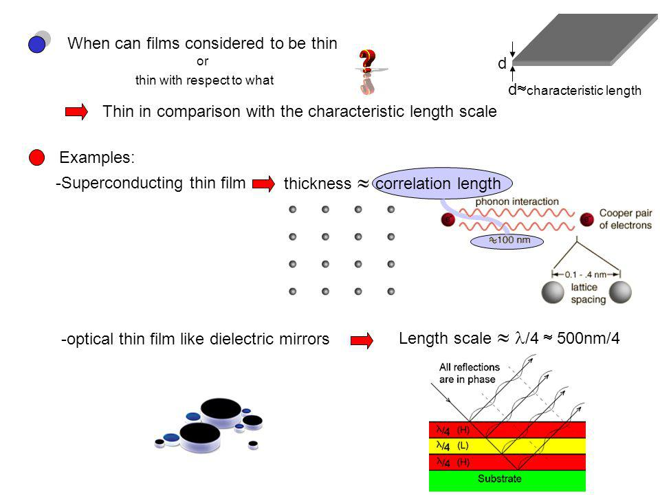 d 11/18/2005 Physics 201H -Magnetic thin films approach the ultimate extreme ferromagnet spacer nonmagnetic Spacer thickness d in # of atomic layers thickness quantum mechanical exchange interaction length a few atomic layers d=8 monolayer J(d=8)>0 Ferromagnetic coupling d=10 monolayer J(d=10)<0 Antiferromagnetic coupling Exchange J(d)