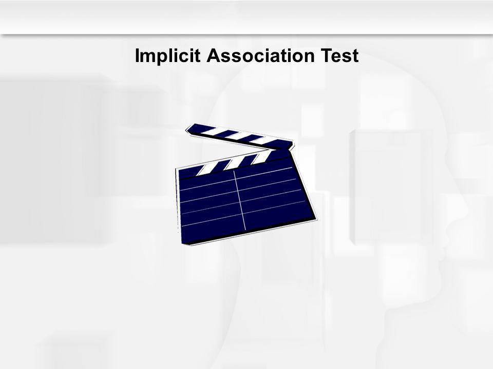Implicit Association Test