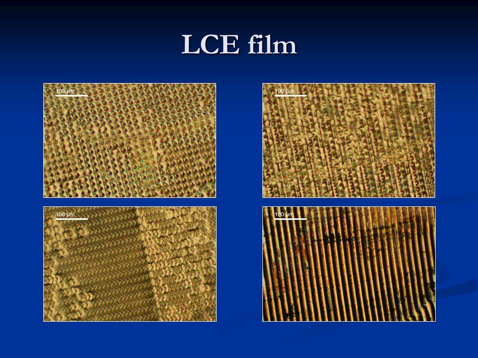 LCE film