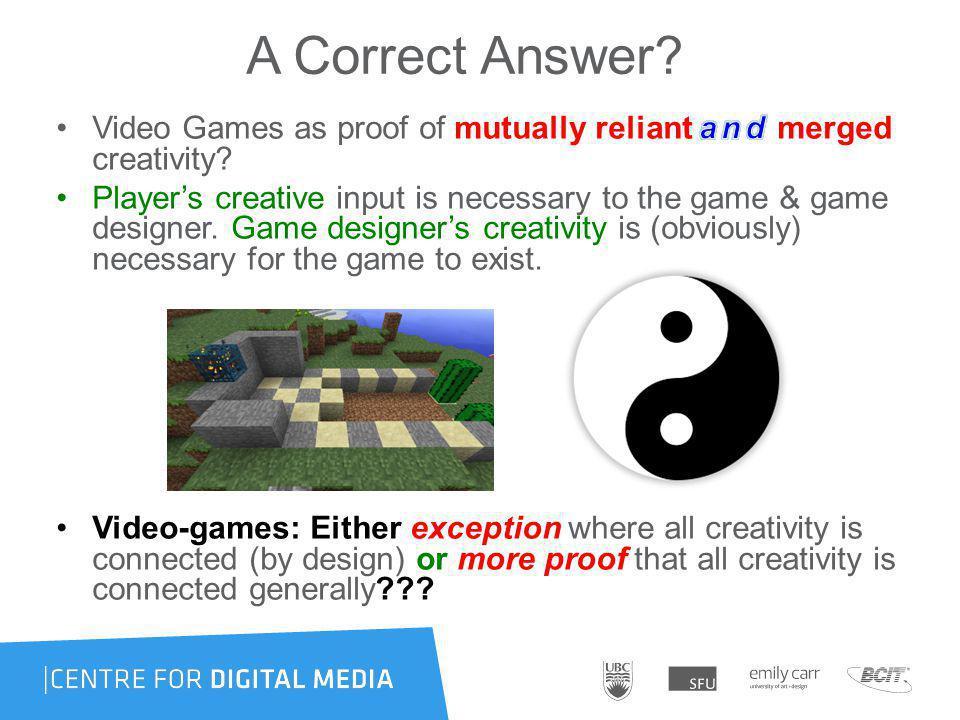 A Correct Answer?