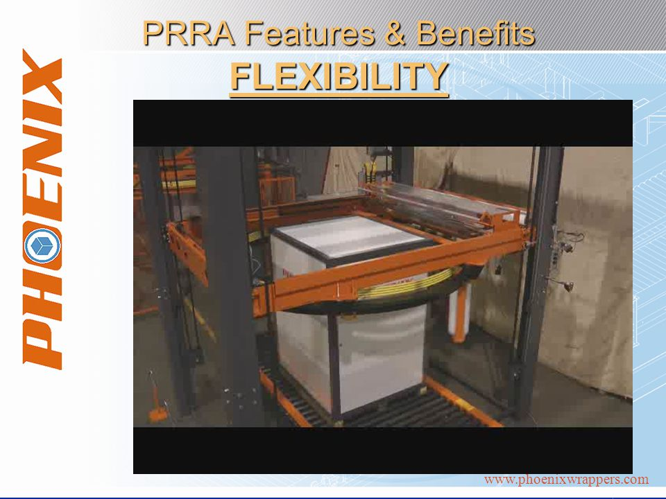 www.phoenixwrappers.com PRRA Features & Benefits FLEXIBILITY