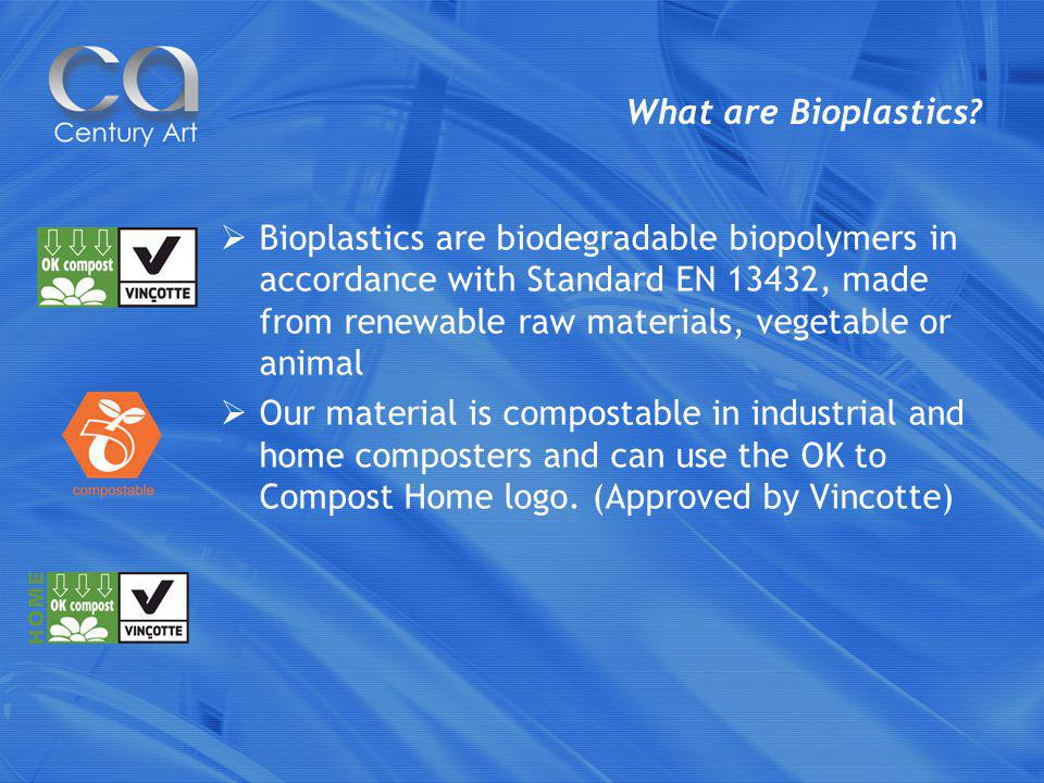 What are Bioplastics.