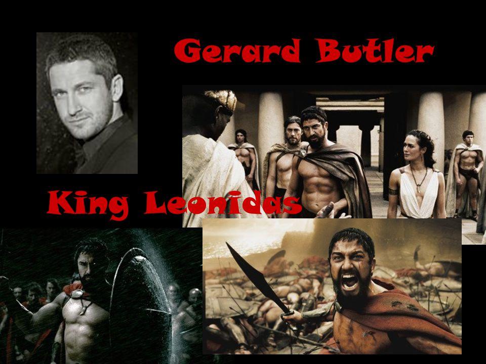 Gerard Butler King Leonidas