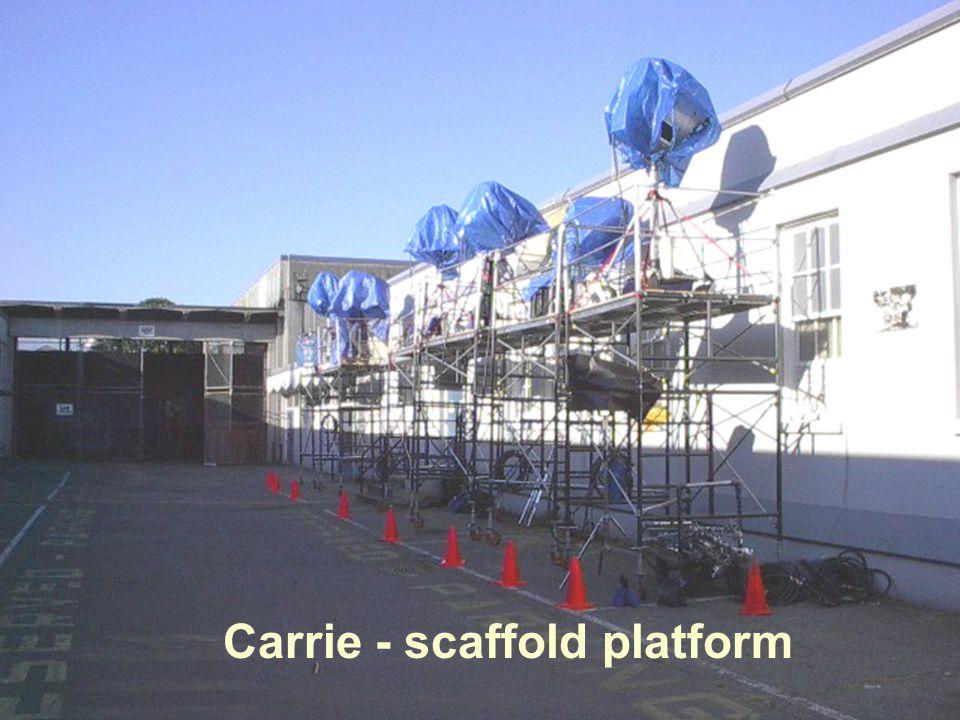 5 Carrie - scaffold platform