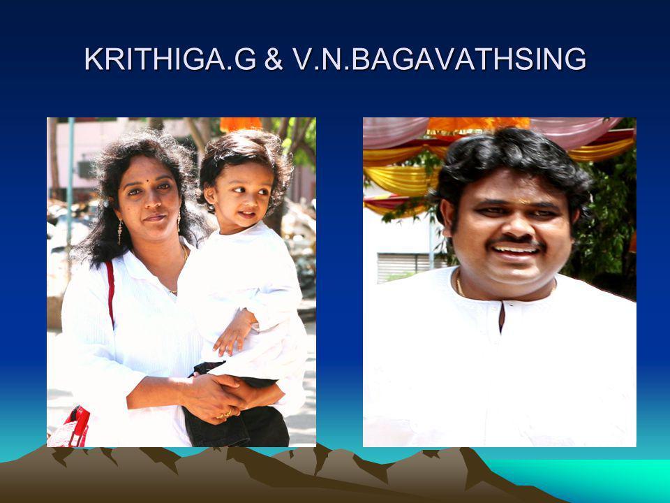 KRITHIGA.G & V.N.BAGAVATHSING