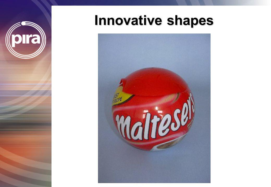 Innovative shapes