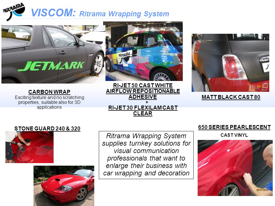 Example of Carbon Wrap application