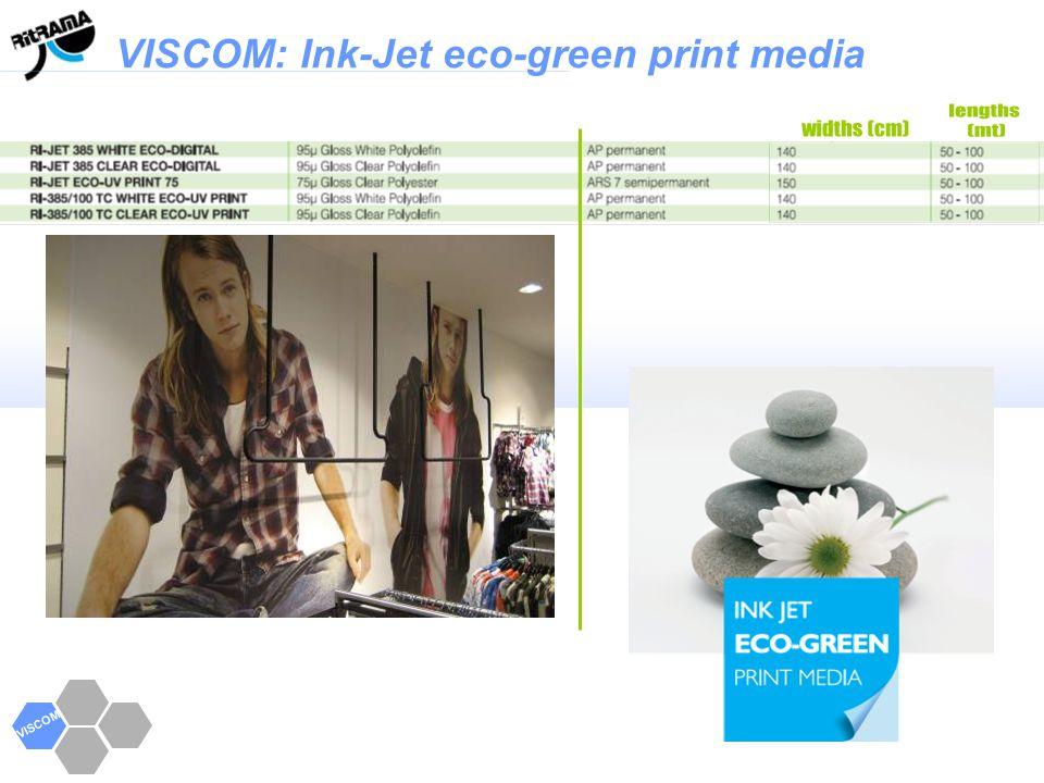 VISCOM: Ink-Jet eco-green print media