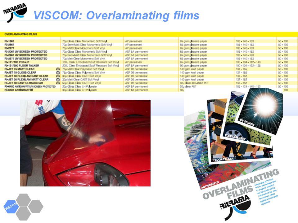 VISCOM VISCOM: Overlaminating films