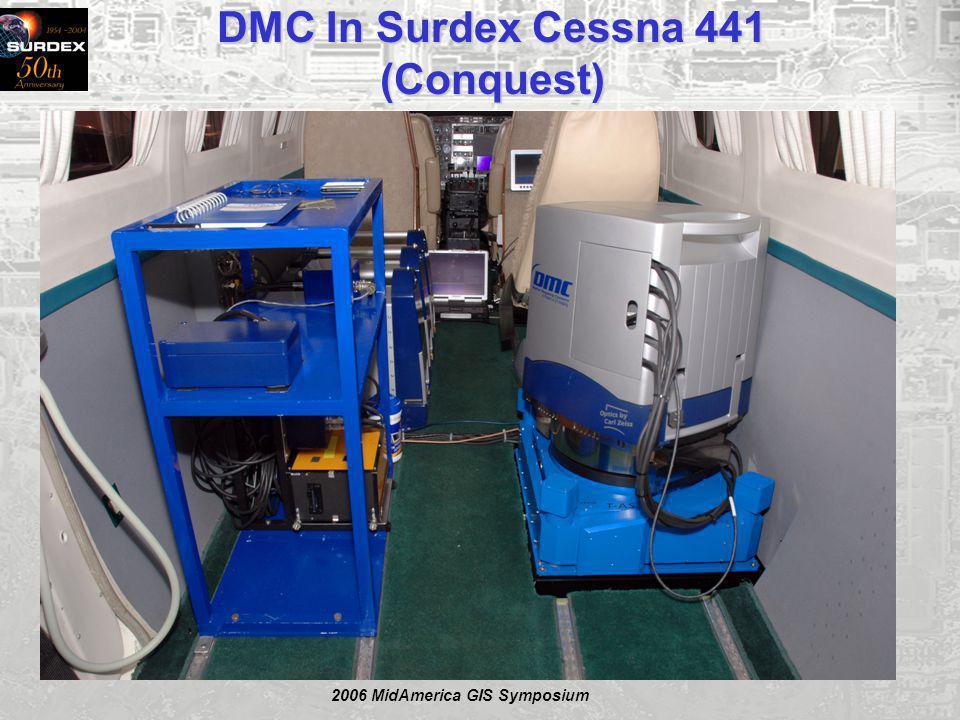 2006 MidAmerica GIS Symposium DMC In Surdex Cessna 441 (Conquest)