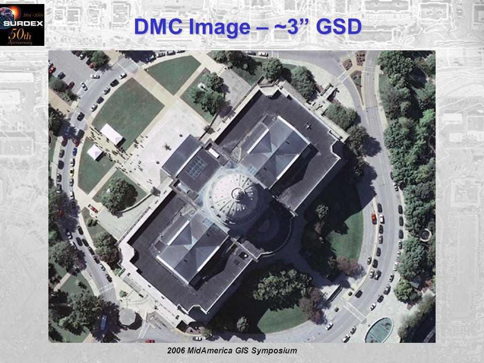 2006 MidAmerica GIS Symposium DMC Image – ~3 GSD