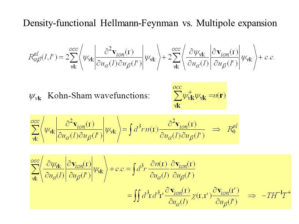 Adiabatic condition Secular equation Dynamic electron density oscillations Non-local dielectric response (susceptibility)