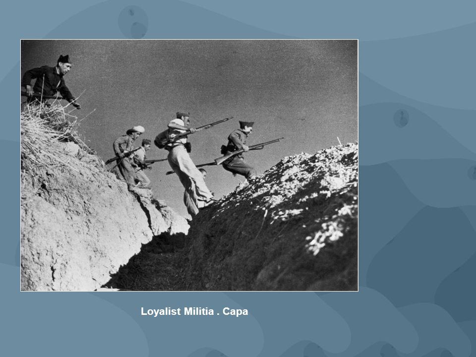 Loyalist Militia. Capa