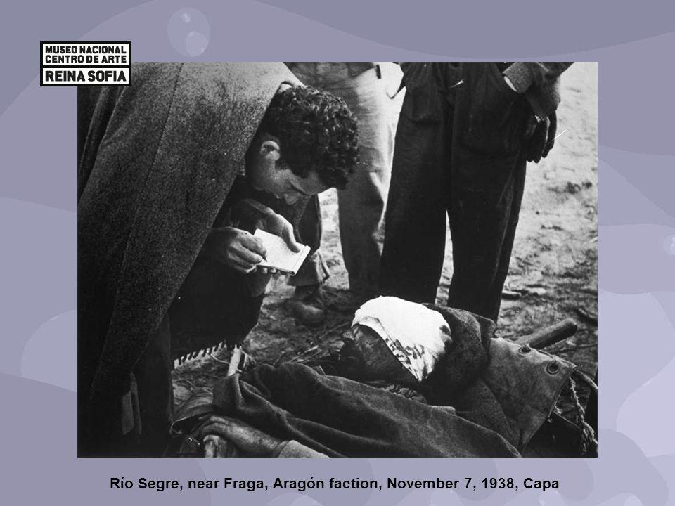Río Segre, near Fraga, Aragón faction, November 7, 1938, Capa