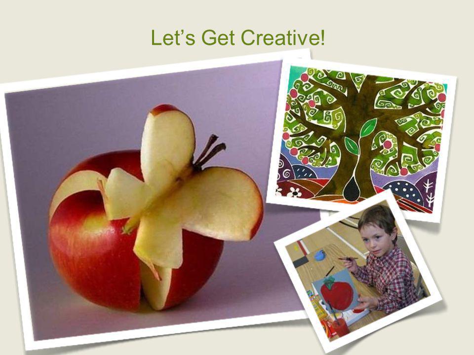 Lets Get Creative!