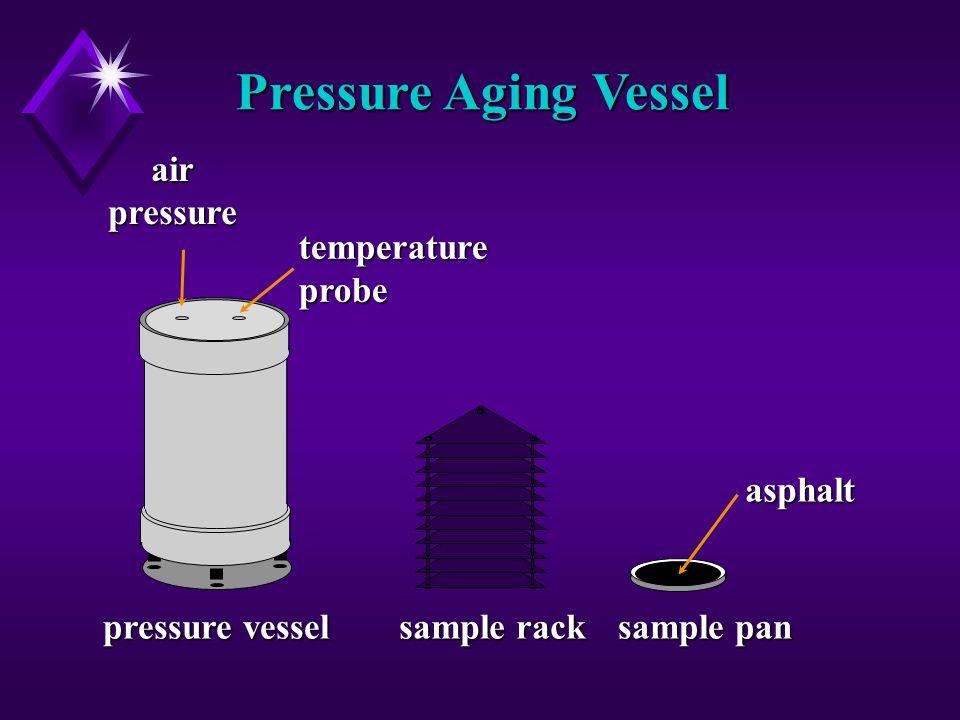 asphalt sample pan sample rack pressure vessel airpressuretemperatureprobe Pressure Aging Vessel
