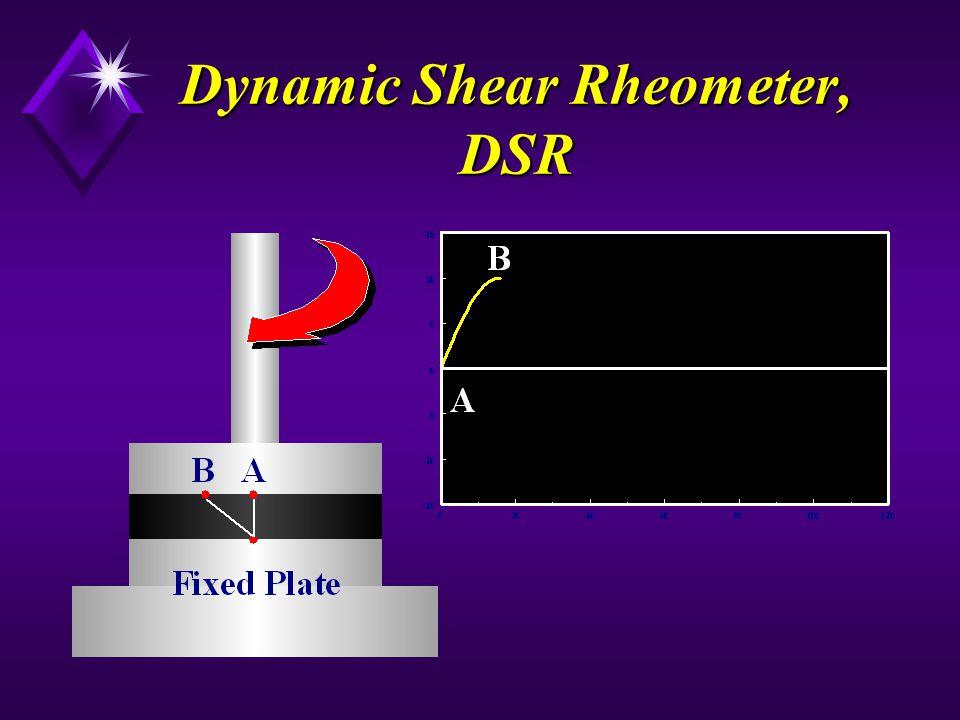 Dynamic Shear Rheometer, DSR