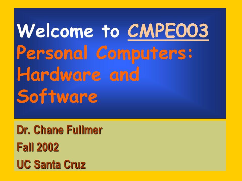October 7, 200211 Keyboard Numeric Keys –Num Lock – toggle –On – n umeric data & math symbols –Off – cursor movement Cursor Movement Keys