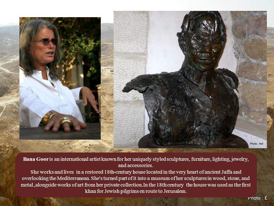 Yaacov Agam is a sculptor.