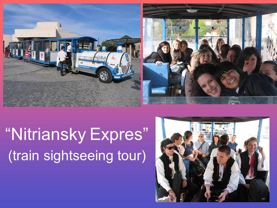 Nitriansky Expres (train sightseeing tour)
