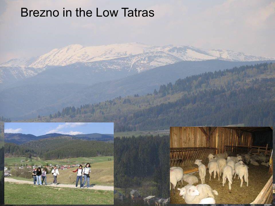Brezno in the Low Tatras
